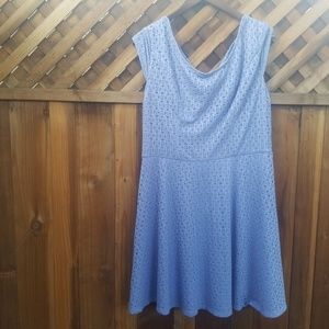 ⚡3/$12⚡Lilac Periwinkle Modcloth Style Dress